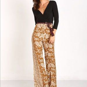 Novella Royale Pants - Novella Royals Hustle Jumpsuit Small